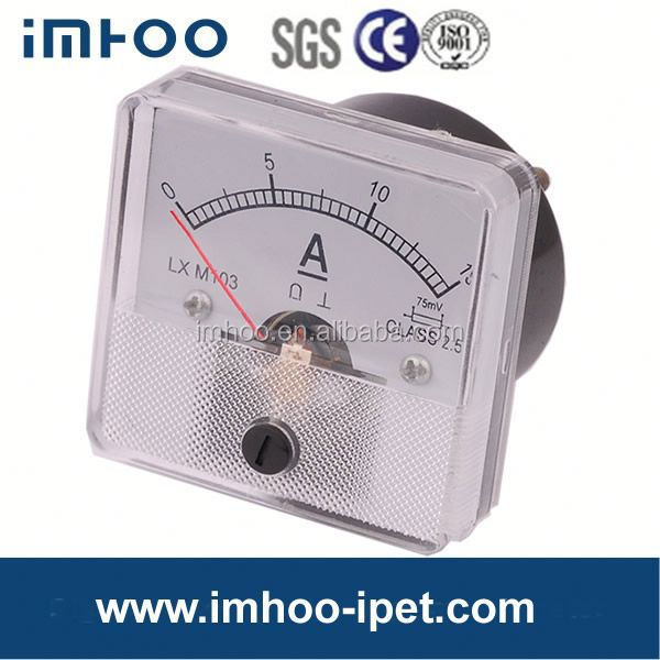 Analog Panel Ammeter 45x45mm electrical meter
