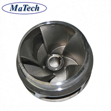 Foundry Custom Lost Foam Stainless Steel Pump Impeller Casting