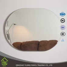 magnifying illuminated Bathroom smart Mirror with light 1.8/2/3/4/5/6mm thickness