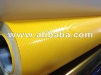 Newest Mill Finish Type 4D Carbon Vinyl Film
