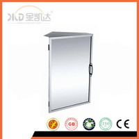 Stainless steel bathroom mirror cabinet 6650 corner cabinet, single door