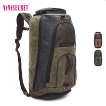 Online Shop China Vintage Canvas Outdoor Travel Mens High Quality Low Cost Backpacks
