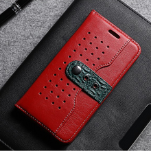 Wholesale custom cow leather mobile cell phone case for iphone 6S