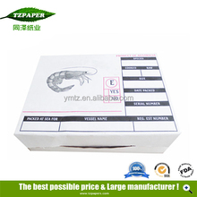 Custom White Color Seafood Packaging, Lobster Packaging
