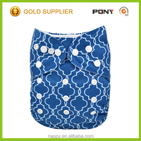 Reusable and Printed Feature Waterproof Fabric Baby Cloth Diaper, One Size Girls Pocket Diapers Manufacture