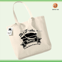 high quality customized eco handmade cotton tote bag