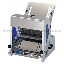 TT-D7B 39Pcs Per Time Customized Thickness Electric Bakery Bread Slicer