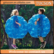 Buddy bumper ball for kids/ inflatable human soccer bubble ball