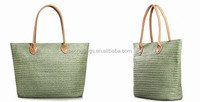 alibaba stylish designer cheap woven straw women shopping tote bag