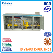 Natural Gas Pressure Regulating Cabinet Station