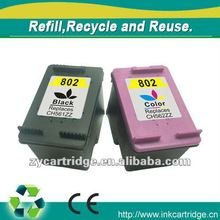 Refill Ink cartridge 802 for hp printers