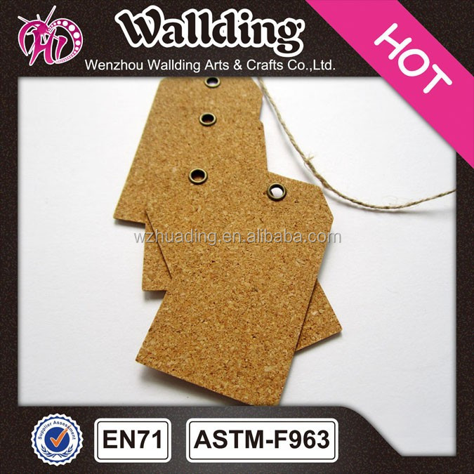 Blank wood gift tags /cloth tags /hang tag for garment with custom logo