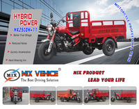 250CC heavy loading larger torque and power cargo three wheels motorcycle