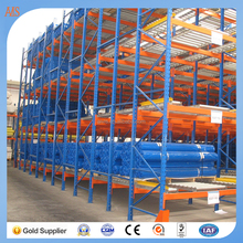 Roller Shelf Racking , China Warehouse Racking , Fabric Rolls Storage Rack