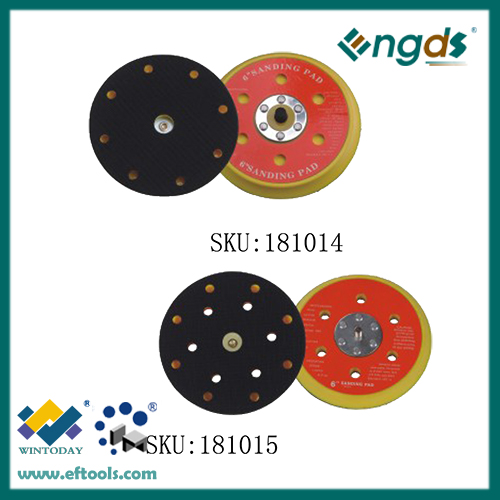 Durable and flexible sanding pad
