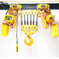 HHBB type 15 ton electric chain hoist 15t with chain bag