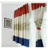 New fashion style cartoon drapery fabricn curtain for child living room