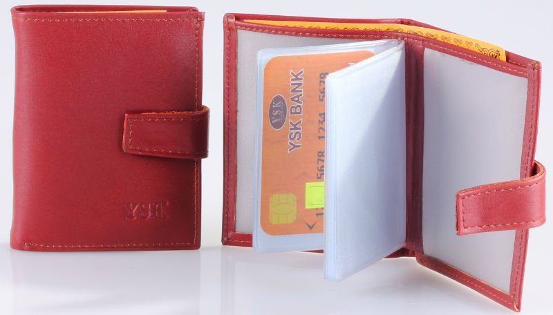 Genuine Leather Card Case / Holder Model No : CCDK-3