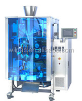 Automatic tetrahedron bag/triangle bag cheese ball/candy/chocolate beans filling packaging machinery