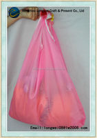 soft pvc rabbit shape recyclable polyester shopping bags