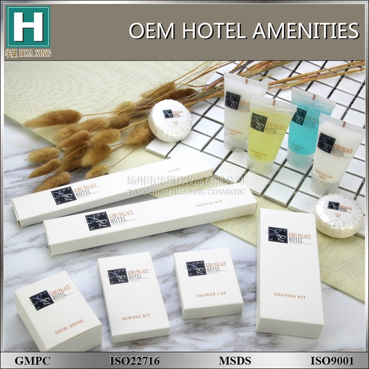 2016 new style hotel amenity set , cheap disposable hotel amenity