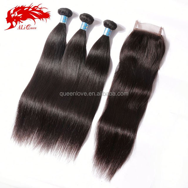 Wholesale price virgin peruvian straight tangle free no shed hair weaving
