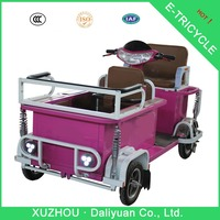 2015 new design passager pedal tricycle for adult electric trike