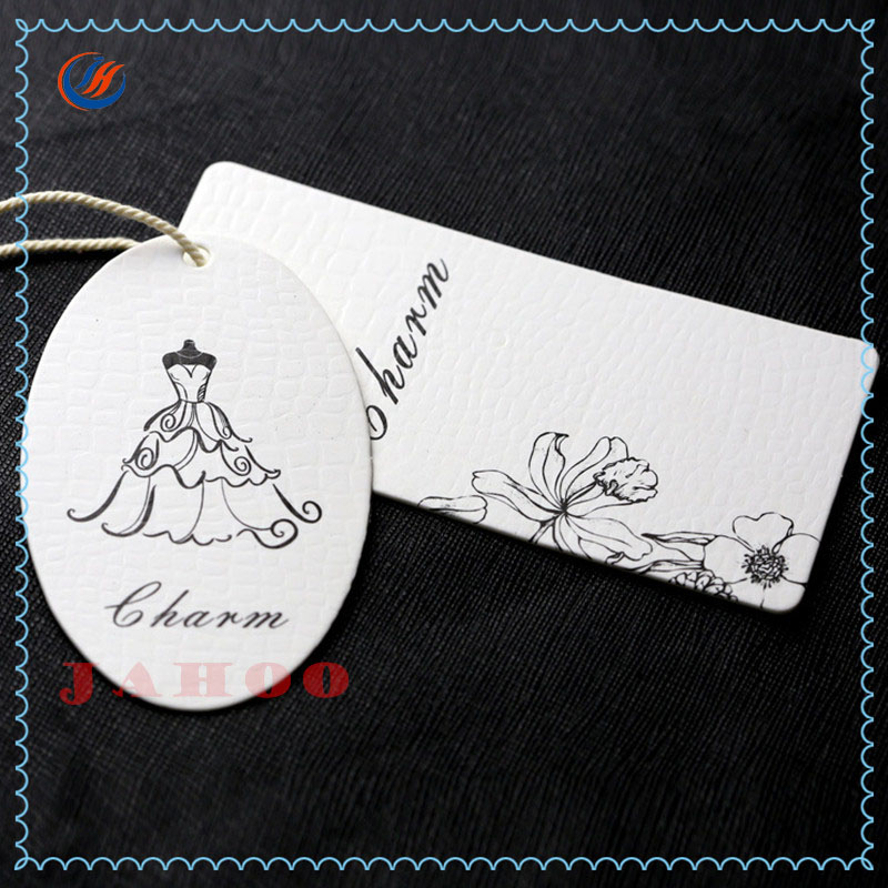New Arrival Custom Design Paper Garment Tags