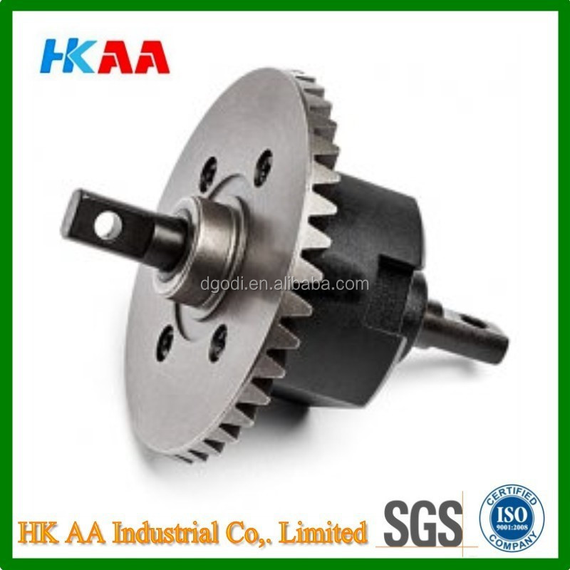Small differential gear, bevel differential gear, rc toy differential gear