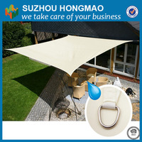 shade sail fabric supplier Quadrangle awning material