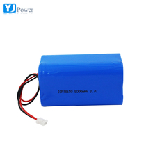 3.7v 8000mah 18650 4p 3.7v li-ion rechargeable battery pack