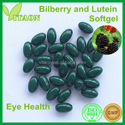 700 mg ISO GMP Certificate and OEM Private Label Bilberry Plants for Sale Softgel