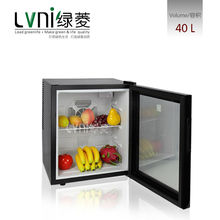 LVNI Electricity Power Source and Portable Installation Modern Display Mini Refrigerator Small Fridge