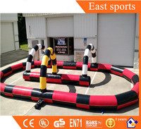 Electric kids toy cars race track racetrack material