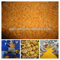 fruits and vegetables/frozen peach dice