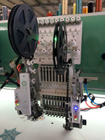 15 head three sequin embroidery machine