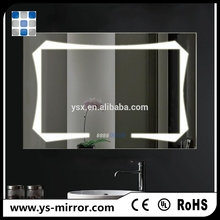 2017 led magnify cosmetic mirror make up mirror magnifying glass mirror