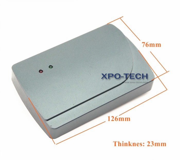 Waterproof Card Reader for Door Access Control System
