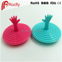 Silicone hole plug drains sink liquid cover