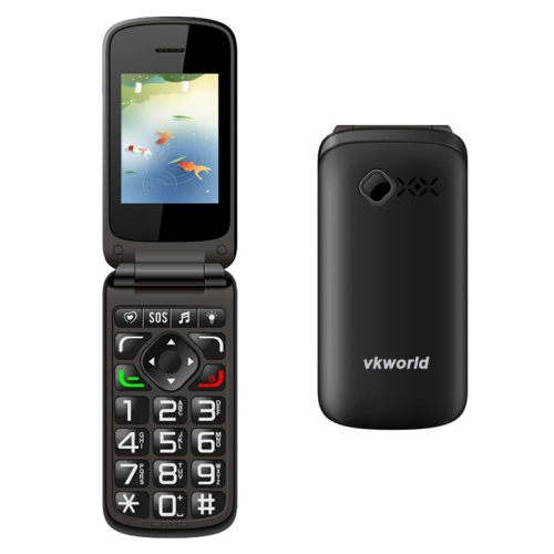 PHONE FOR ELDERS CHEAP PHONE VKworld Z2 2.4 inch TFT Color Display Screen Elders Mobile Phone, Support Dual SIM Card