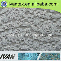 2015 fashion new design spandex fancy lace fabric new sample