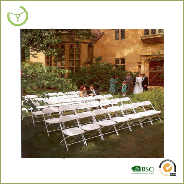 10 Stacking Chairs Easy Storage strong portable white used wedding wholesale mental folding chairs