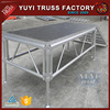 Assembly used aluminum material wedding stage