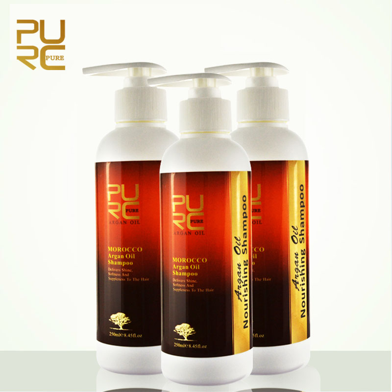 Hot selling hair brand names of shampoo for dry hair in bulk and OEM