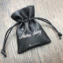 Small Satin Jewelry Gift Pouch