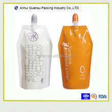 ODM 150ml 300ml energy drink juice fruit jelly milk shake flat bottom spout pouch