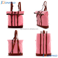 New launch fashion girls canvas backpack bag