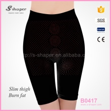 S-SHAPER High Waist Shorts,Hot Shapers Panties,Far Infrared Mid Thigh Pants