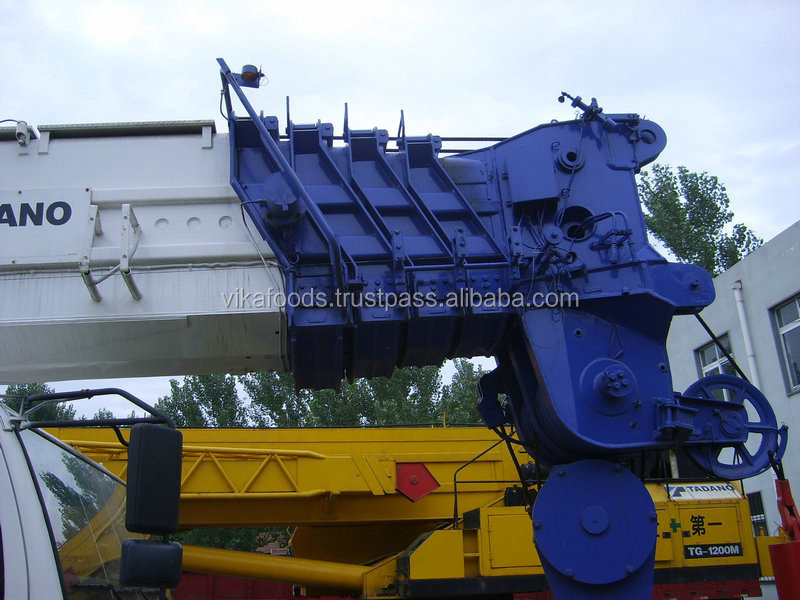 Good performance Japan 200t crane 2011 tadano AR2000M truck/mobile crane sale in shanghai