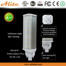 China Professional led light factory UL compatible ballast E26 G23 G24 pl led/Perfect replace CFLs 7w 11w 9w g23 led pl lamp